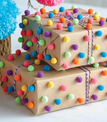 How To Make Pom-Pom Wrapping