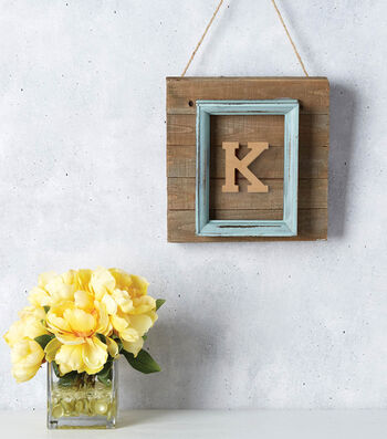 How to Make a Picture Frame Pallet