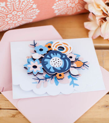 Make A Dimensional Flower Card