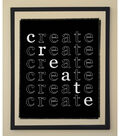 Square By Design® Wall Art in Floating Frame