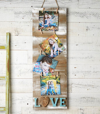 How to Make a Tall Picture Pallet