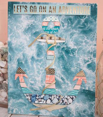 Make A Set Sail Anchor Sign