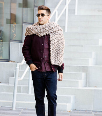 Couture Jazz Jumbo Knit Scarf