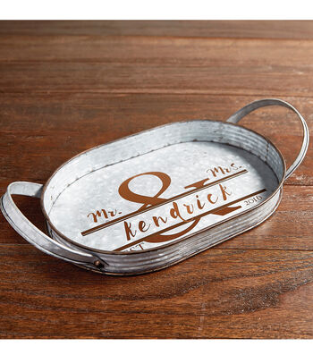 How To Make A Galvanized Serving Tray