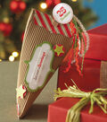 Column Twist Gift Container - Christmas