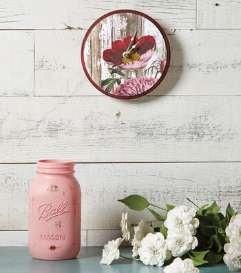 How to Make a Decoupaged Wood Clock