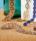 Crystal Cone and Rhinestone Bracelet