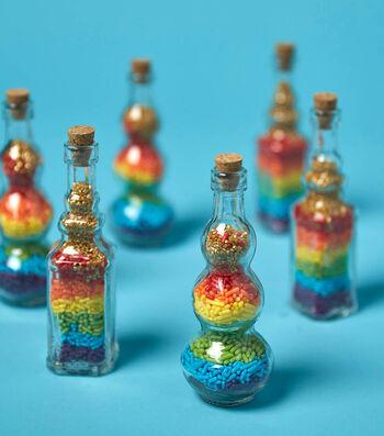 Make Unicorn Rainbow Dust Sprinkle Jar