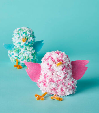 Make Yarn Birds