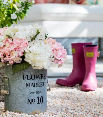 Bloom Room Galvanized Bucket Floral Arrangement