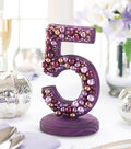 Pretty Pearly Table Number