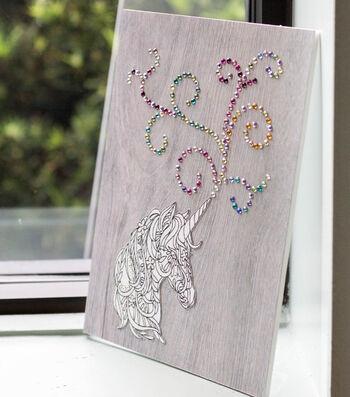 How To Make Believe in Unicorns Art