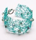 Crochet Wire Cuff Bracelet