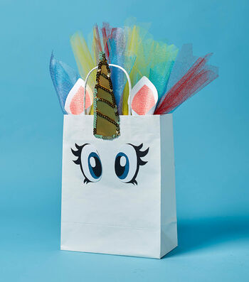 Make A Special Unicorn Gift Bag