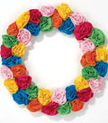 T-Shirt Flower Wreath