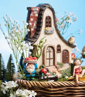 How to Make a Basket Gnomes Fairy Garden
