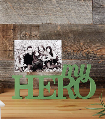 How to Make a My Hero Photo Holder