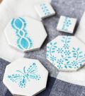 Stamped Tile Magnets