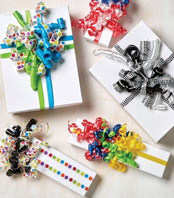 How To Make Ribbon Wrapped Gift Packages