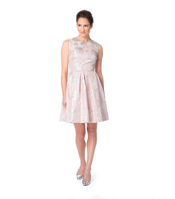 Rosewater Spring Brocade Dress
