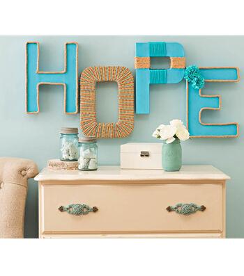 Idea Market Trimmed Hope Letters