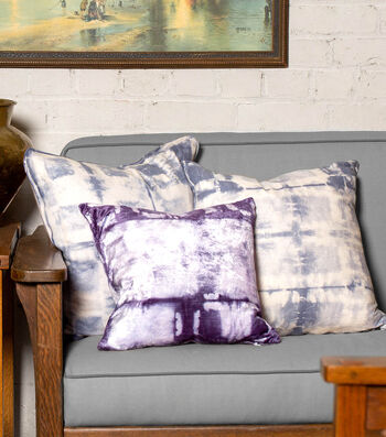 How To Make Shibori Pillow Covers