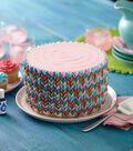 Vibrant Petals Cake