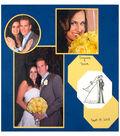 Happy Couple Scrapbook Wedding Page