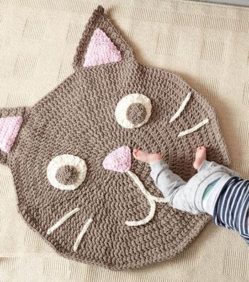 Make A Purrrfect Crochet Play Rug
