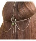 Green Goddess Hair Jewelry