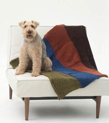Barkley Loves His Blanket