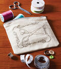 Embroidered Scissors Pouch