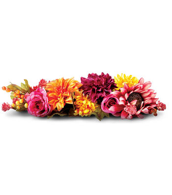 Make A Fall Floral Arrangment