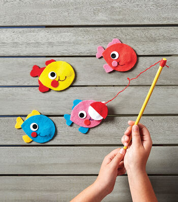 Make A Felt Fishing Game