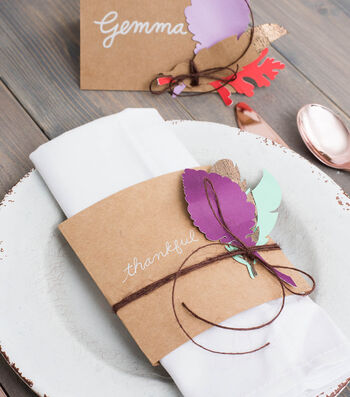 How To Make  Thanksgiving Themed Napkin Holders