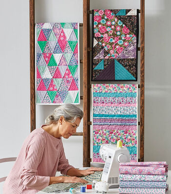 How To Make Mini Quilt Wall Hangings