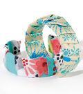 Folded Fabric Wrapped Bracelet