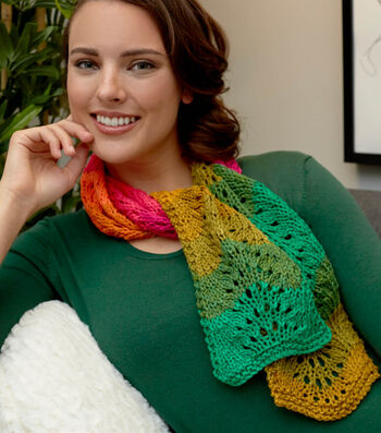 How To Knit A  Fantastic Ripple Scarf