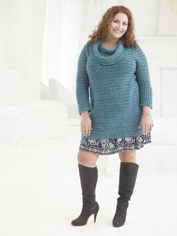 Curvy Girl Crochet Tunic