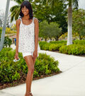 Embellished Sequin Tank with Beaded Straps