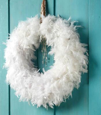 Make A Boa Wreath