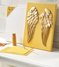 """How To Make A 11"""" x 14"""" Canvas with Angel Wings"""