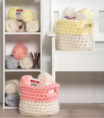 How To Make A Colorblock Pastel Baskets