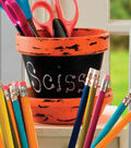 Painted Clay Pot Storage