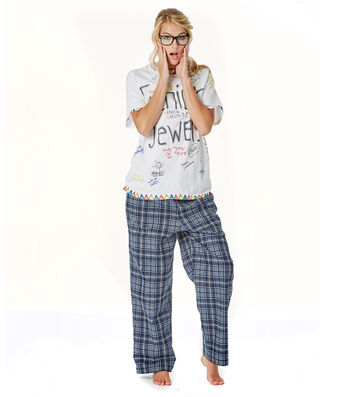 Autograph T-shirt and Plaid Pants Costume