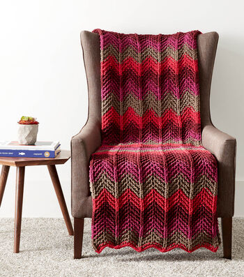 How To Make A Radiant Ripple Knit Blanket