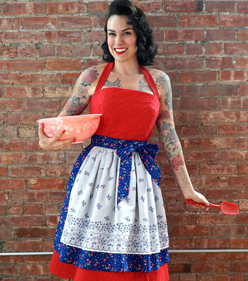 How To Sew A Gertie Retro Half Apron