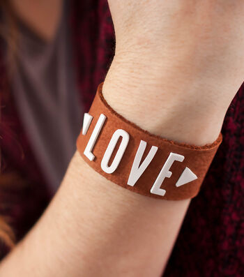 How To Make A Personalized Leather Bracelet