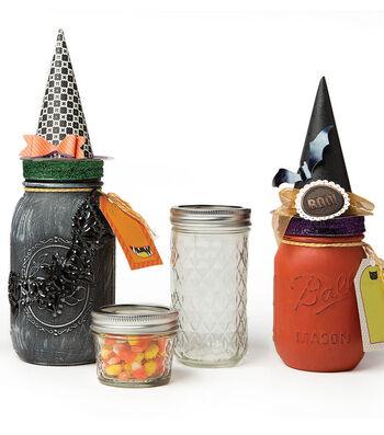 How To Make Halloween Mason Jars