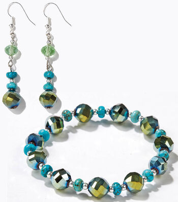 Blue Moon Strung Beads Jewelry
